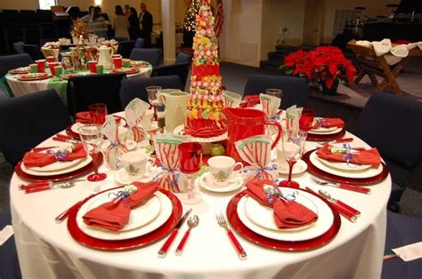 christmas luncheon table decorations southern seven tea table