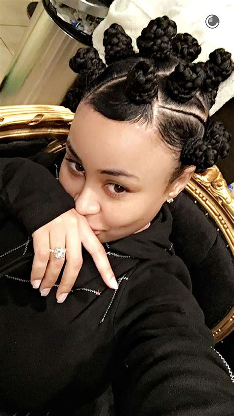 Blac Chyna Hairstyle by Blac Chyna Debuts New Hairstyle Continues To Rob