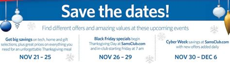 sams club new years hours sam s club savings event ad posted black friday