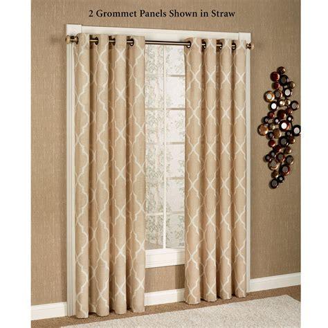 grommet curtains on sale medalia grommet curtain panels