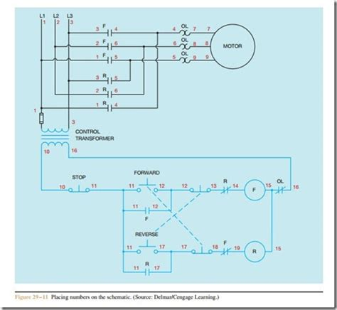 forward electric motor wiring diagram