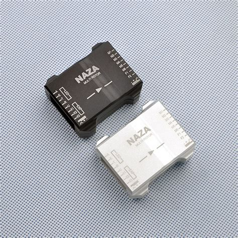 Dji Naza M Lite Original Fc Only Bisa Upgrade Ke V2 cnc aluminum flight controller protection for dji naza series silver