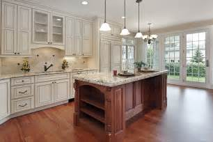 white kitchen wood island luxury kitchen ideas counters backsplash cabinets