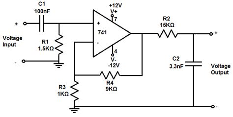 high pass filter non inverting how to build an active bandpass filter circuit with an op