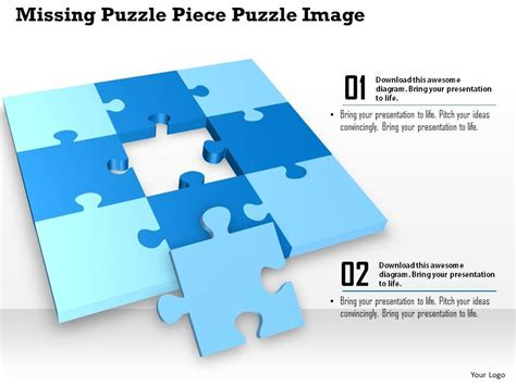 powerpoint template piece of puzzle missing problem and 0914 business plan missing puzzle piece puzzle image slide