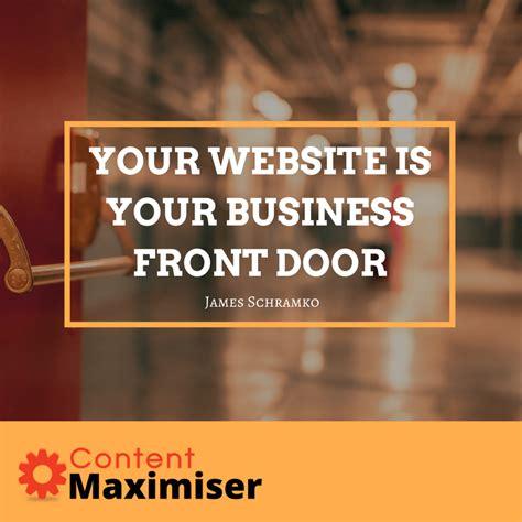 Front Door Marketing Marketing Monday Content Maximiser