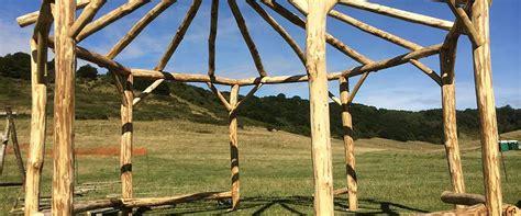 gazebo ottagonale in legno strutture in legno vivaio e stefanelli todi