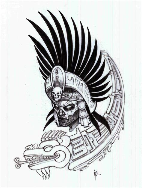mayan warrior tattoo designs aztec warrior aztec warrior outlines pictures a