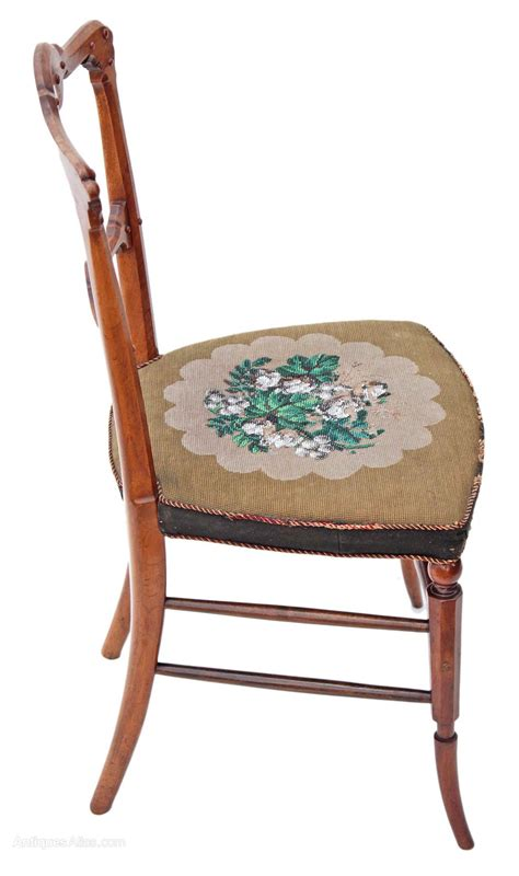 antique bedroom chair arts crafts victorian walnut chair bedroom side