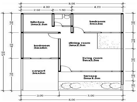 simple floor plan with 2 bedrooms simple small house floor plans 2 bedrooms simple small house floor plans house plan small