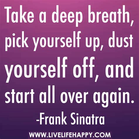 Starting All Again 3 by Take A Breath Yourself Up Dust Yourself