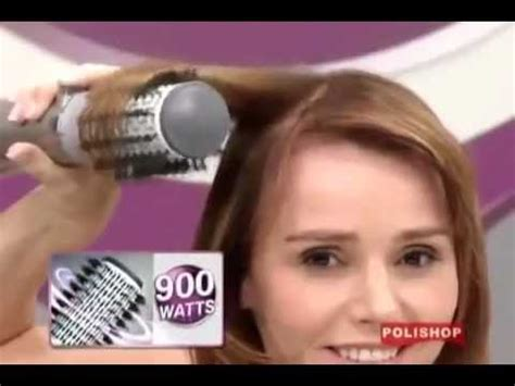 Hair Styler by Rotating Air Brush Hair Styler