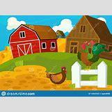 Cartoon Farm Scene | 1600 x 1155 jpeg 147kB