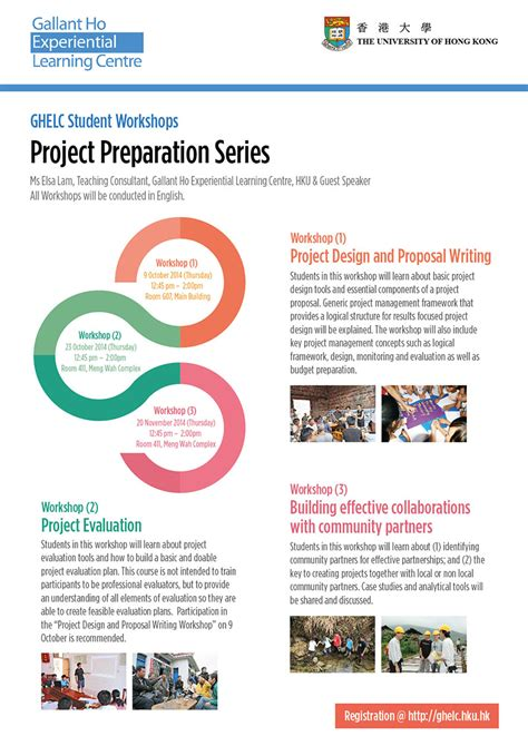 design poster project ghelc student workshops project preparation series 1