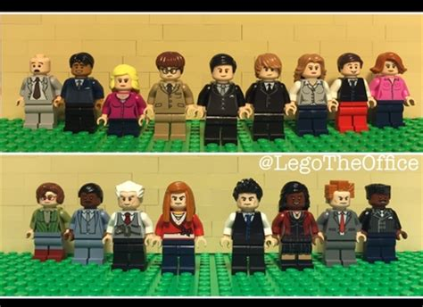 The Office Lego by Lego Ideas Nbc S The Office