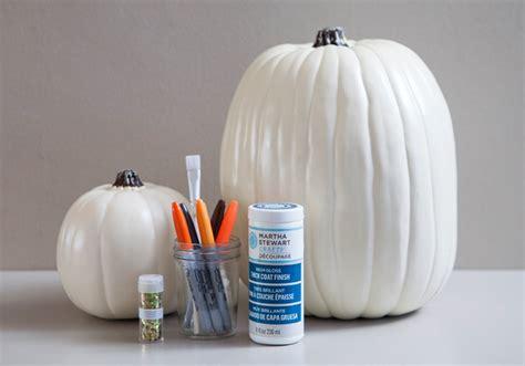 Msc Decoupage Glue - learn how to diy a pumpkin guest book