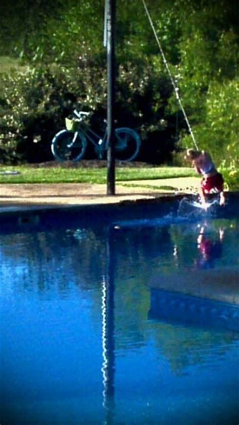 rope swing into pool rope swing over pool home is where the heart is