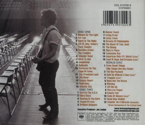 the essential bruce springsteen wikipedia la bruce springsteen the essential uk 3 cd album set triple
