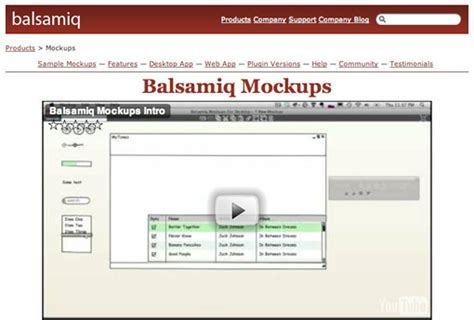 mockups balsamiq templates images