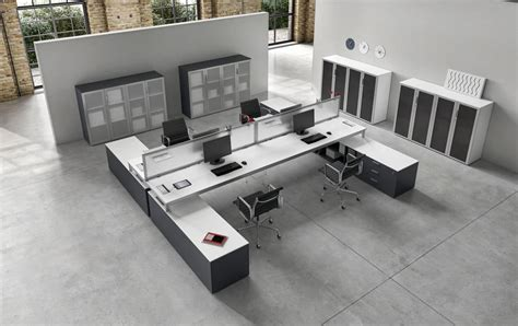 postazioni ufficio tavolo 4 postazioni operative ideale per uffici moderni