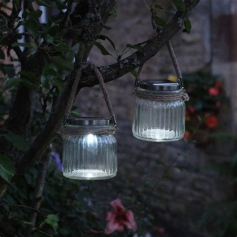 solar lantern lights garden solar powered rustic glass garden lanterns