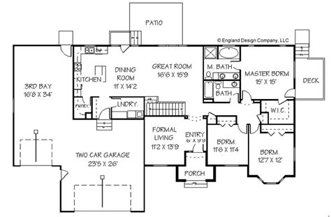 free ranch style house plans master bedroom addition plans home addition plans for