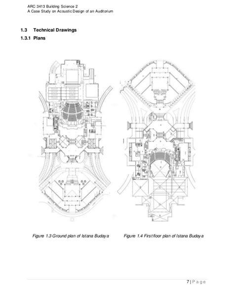 layout panggung sari istana budaya building science 2 report