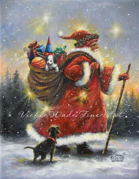 images of christmas paintings christmas paintings vickie wade fine art