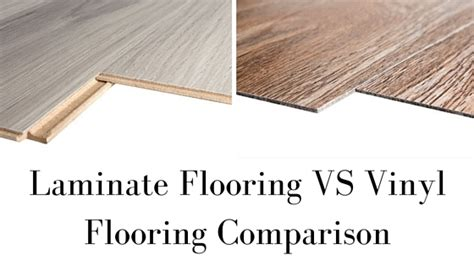 Vinyl Plank Flooring Vs Laminate Laminate Flooring Vs Vinyl Flooring Comparison