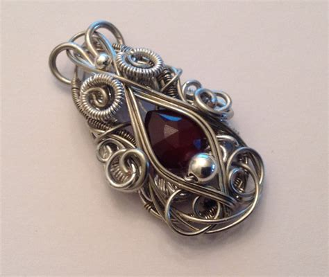 wire for jewelry projects perfectly twisted handmade wire wrapped beaded and