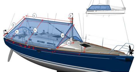 dekzeil zeilboot dekzeil voor zeiljacht meetformulier dekzeil kuip
