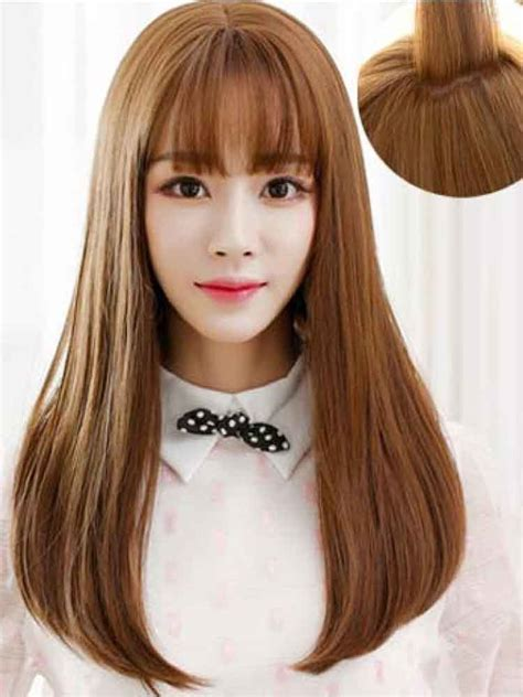 style terkini  model rambut oval layer sebahu tampak