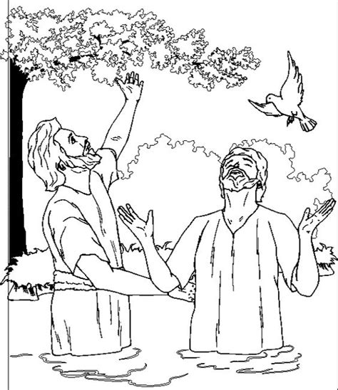 the baptist coloring page the baptist coloring page the baptist