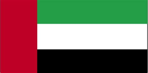 flags of the world red white green vertical cia the world factbook flag of united arab emirates
