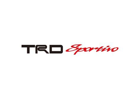 Emblem Racing Development Kecil trd logo vector wallskid