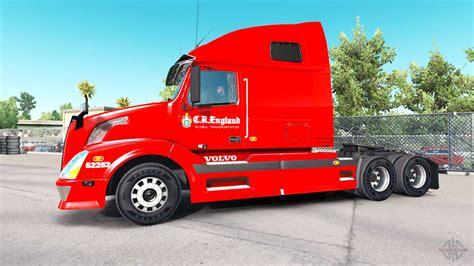 skin   england  tractor volvo vnl   american truck simulator