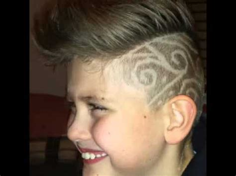 Kinder Haarschnitt by Hairstyle Trendiger Haarschnitt F 252 R Kinder