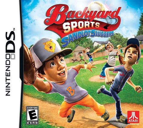 wii backyard sports backyard sports sandlot sluggers ds review any game