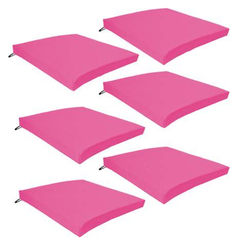 Pink Outdoor Indoor Home Garden Chair Floor Seat Cushion