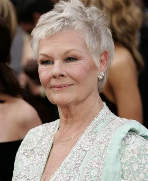 How To Cut Judi Dench Bangs | judy dench hair related pictures judi dench hairstyle