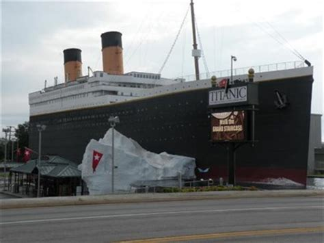 titanic boat in missouri titanic museum branson mo maritime museums on