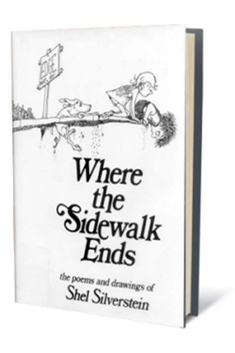 where the sidewalk begins more entryway inspiration where the sidewalk ends poems and drawings hardcover