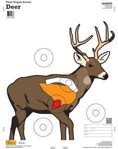 printable whitetail deer targets deer vitals target free printable shooting targets