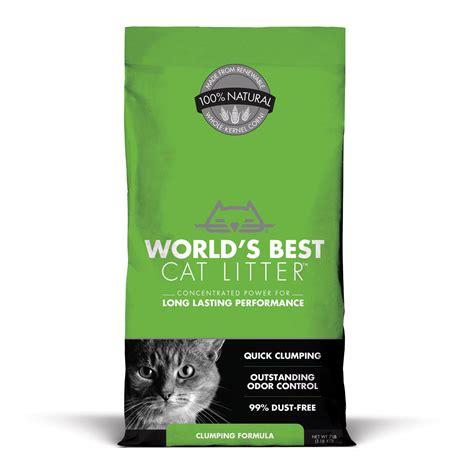 best litter world s best cat litter clumping formula petco