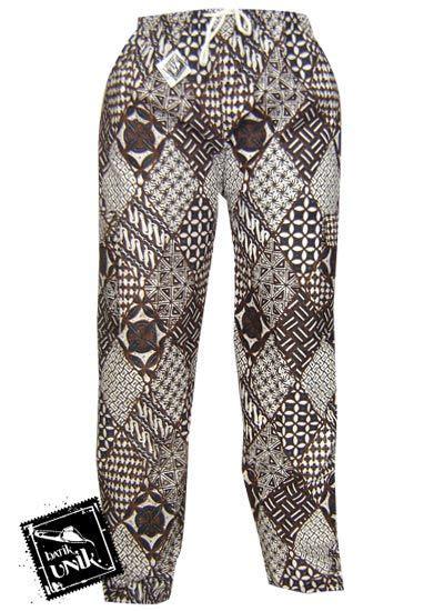 celana panjang batik motif jogja celana murah batikunik