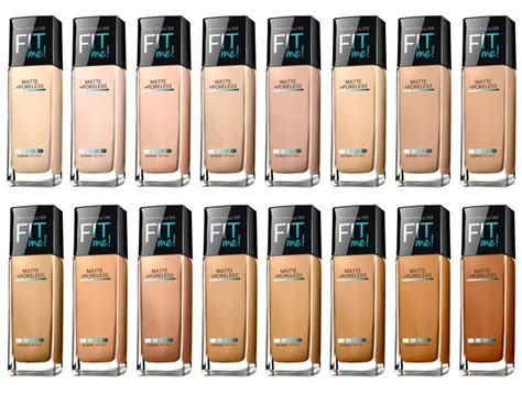 Maybelline Fit Me Matte And Poreless how to apply maybelline fit me foundation amillionstyles