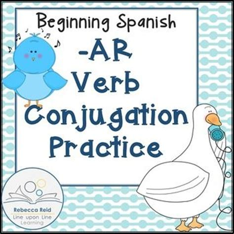 start spanish learn spanish beginning spanish ar verb conjugation practice free classroom freebies from my teacher