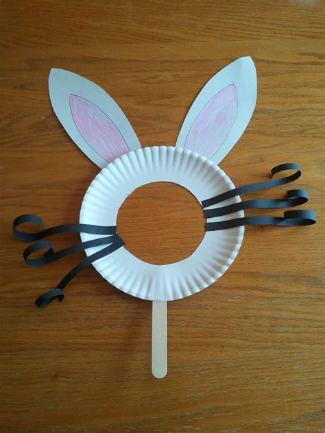 Easter Bunny Paper Plate Craft - 11 easy peasy easter crafts for toddlers