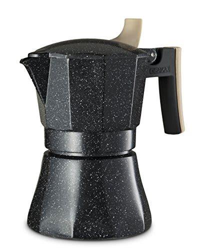 Osaka Percolator Coffee Teko Kopi Moka Pot Nijo Castle 3 Cup Black stainless steel 6 cup stove top coffee maker espresso pot moka brewer stovetop espresso moka