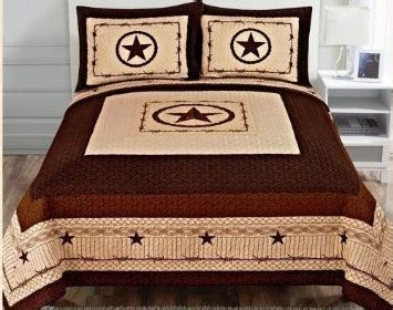 discount western bedding 3 piece western lone star barb wire cabin lodge quilt